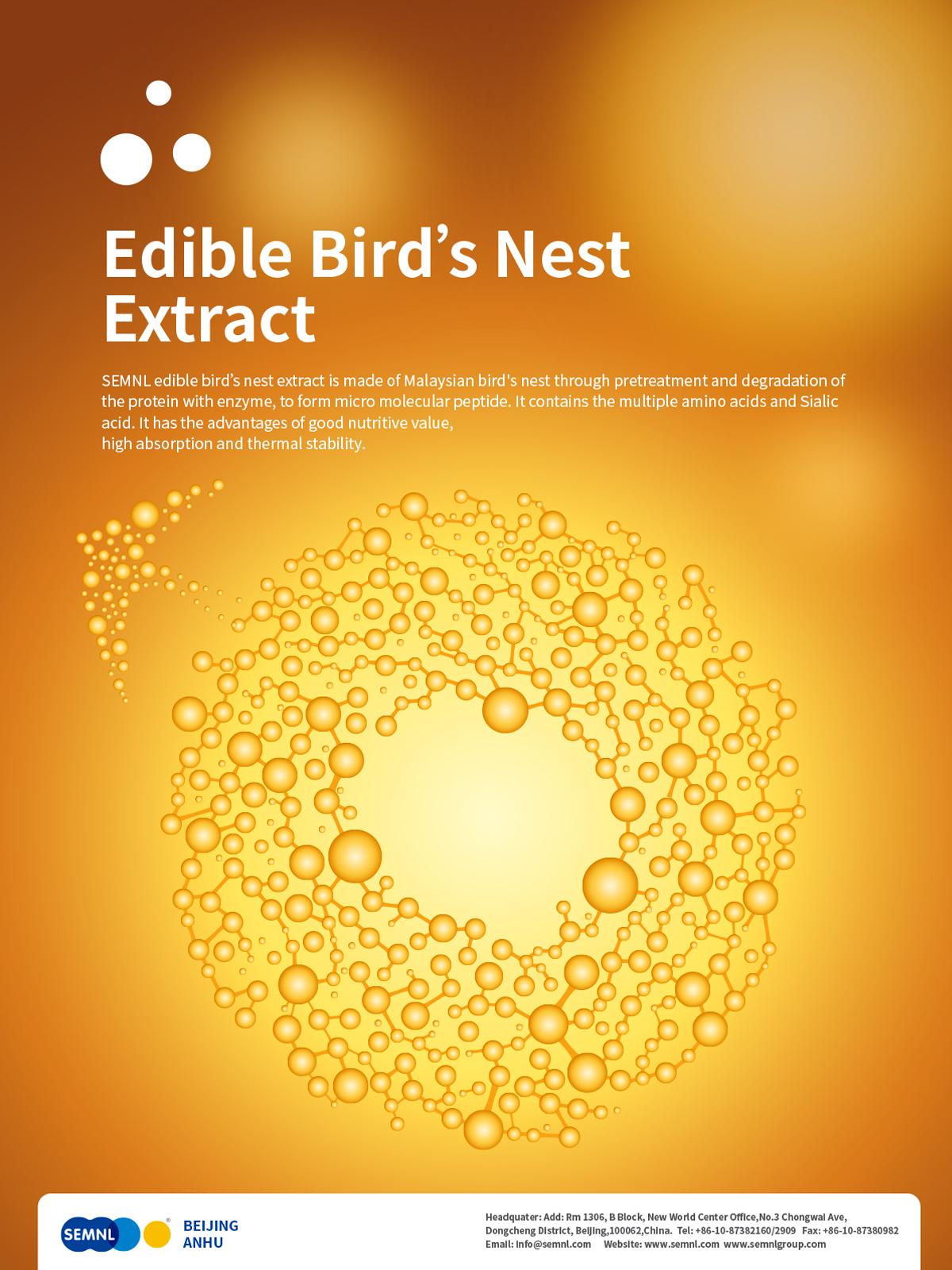 Edible Bird' s Nest Extract